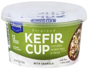 Lifeway Kefir Cup with Granola, Strained