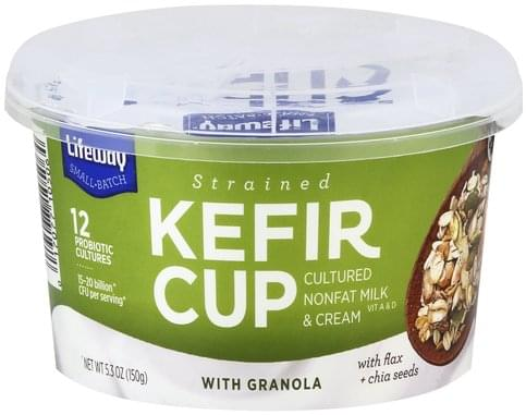 Lifeway with Granola, Strained Kefir Cup - 5.3 oz