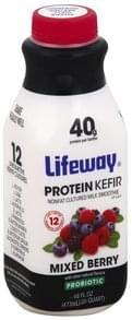 Lifeway Protein Kefir Mixed Berry