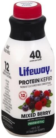 Lifeway Mixed Berry Protein Kefir - 16 oz