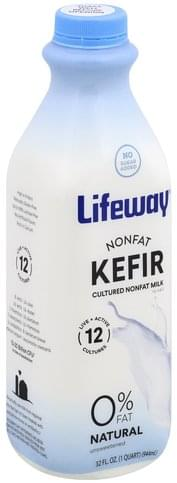 Lifeway Nonfat, Unsweetened Kefir - 32 oz