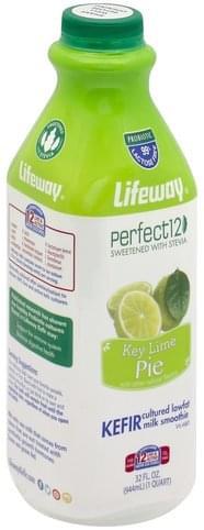 Lifeway Lowfat, Key Lime Pie Kefir Cultured Milk Smoothie - 32 oz