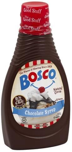 Bosco Chocolate Syrup - 15 oz