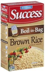 Success Brown Rice Whole Grain, Precooked