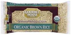 Gourmet House Brown Rice Organic