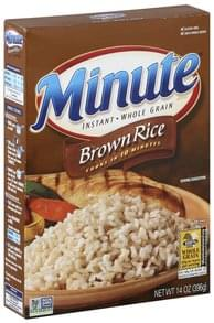 Minute Brown Rice Instant, Whole Grain