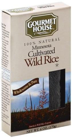 Gourmet House Minnesota Cultivated Wild Rice - 6 oz