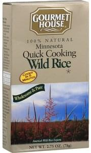 Gourmet House Wild Rice Minnesota Quick Cooking