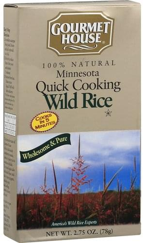 Gourmet House Minnesota Quick Cooking Wild Rice - 2.75 oz