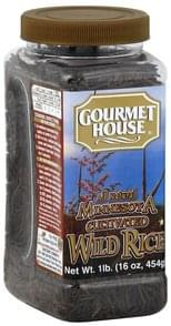 Gourmet House Wild Rice Minnesota Cultivated