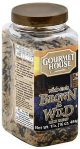 Gourmet House Rice Blend Whole Grain, Brown & Wild