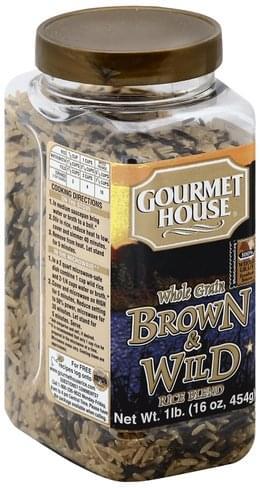 Gourmet House Whole Grain, Brown & Wild Rice Blend - 16 oz
