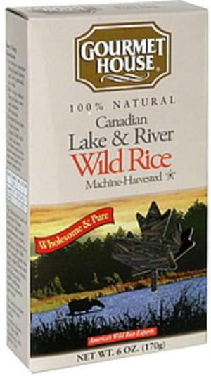 Gourmet House Canadian Lake & River Wild Rice - 6 oz