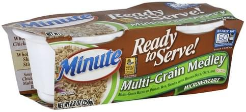 Minute Microwaveable Multi-Grain Medley - 8.8 oz