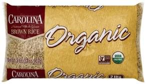 Carolina Rice Brown Rice, Organic, Natural Whole Grain