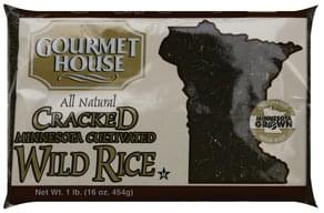 Gourmet House Wild Rice Cracked, Minnesota Cultivated
