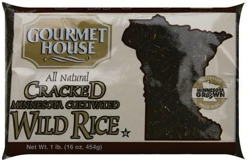 Gourmet House Cracked, Minnesota Cultivated Wild Rice - 16 oz