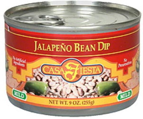 Casa Fiesta Mild Jalapeno Bean Dip - 9 oz
