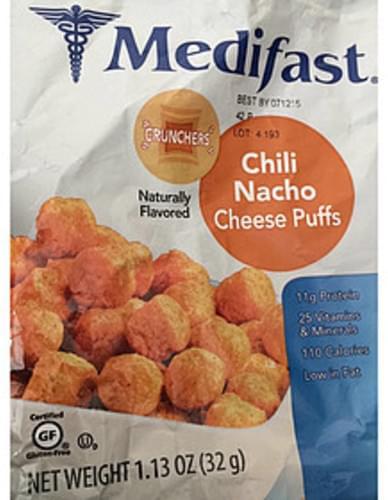 Medifast Chili Nacho Cheese Puffs - 32 g