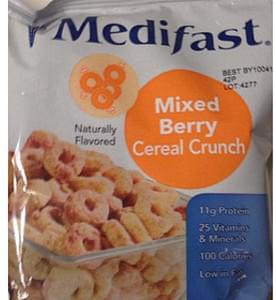 Medifast Mixed Berry Cereal Crunch