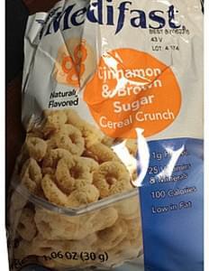 Medifast Cinnamon & Brown Sugar Cereal Crunch