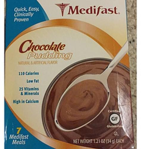 Medifast Chocolate Pudding - 34 g