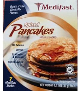 Medifast Spiced Pancakes