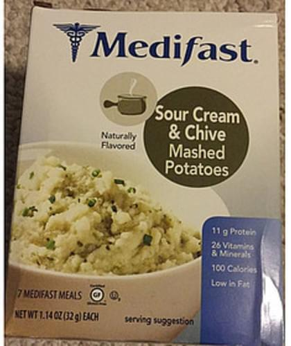 Medifast Sour Cream & Chive Mashed Potatoes - 32 g