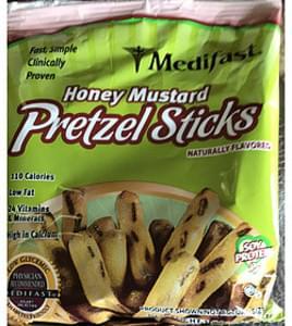 Medifast Honey Mustard Pretzel Sticks
