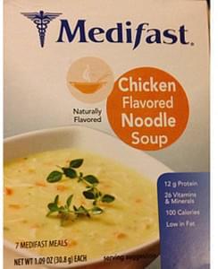 Medifast Chicken Flavored Noodle Soup