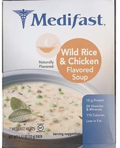 Medifast Wild Rice & Chicken Flavored Soup