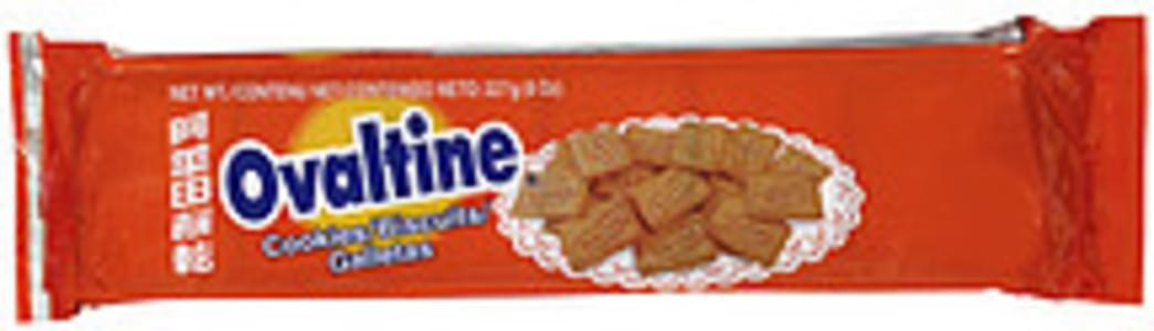 Ovaltine Cookies Made With Ovaltine Malt Drink Mix