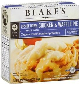 Blakes Chicken & Waffle Pie Upside Down