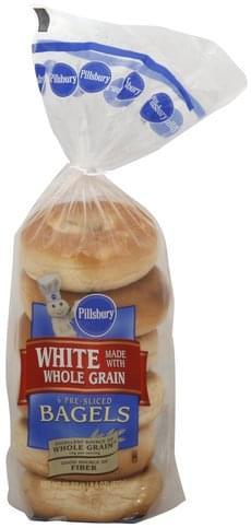 Pillsbury Pre-Sliced Bagels - 6 ea