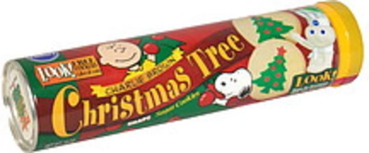 Pillsbury Sugar Christmas Tree Shape Cookies 24 Ea Nutrition