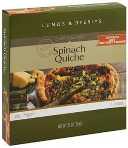 Lunds & Byerlys Quiche Spinach