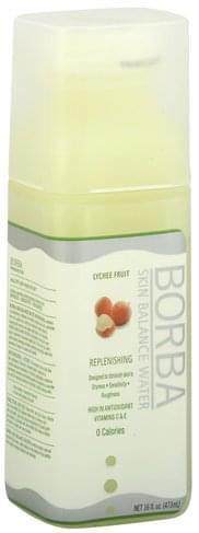 Borba Lychee Fruit Skin Balance Water - 16 oz