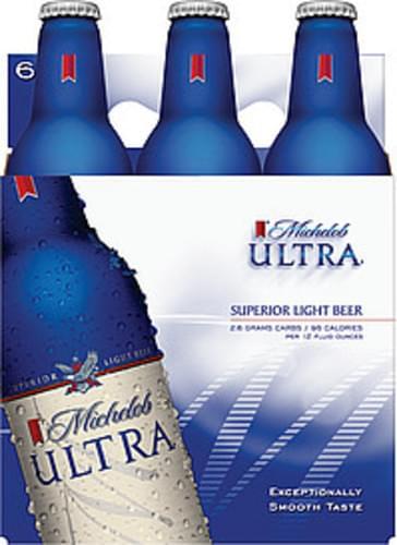 Michelob Ultra 16 Oz Beer - 6 pkg