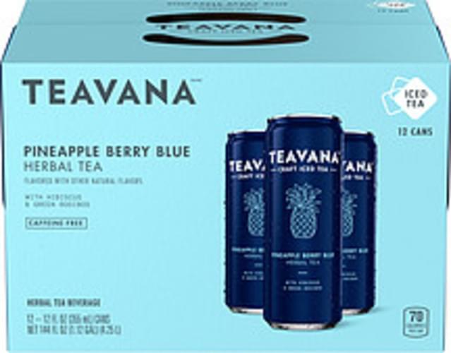 Teavana Pineapple Berry Blue Herbal