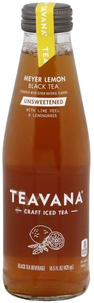 Teavana Black Tea Meyer Lemon, Unsweetened