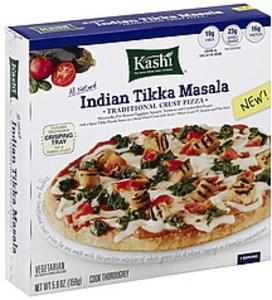Kashi Pizza Traditional Crust, Indian Tikka Masala