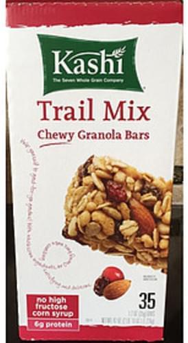 Kashi Chewy Granola Bars Trail Mix - 35 g, Nutrition