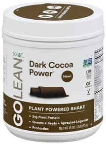 Kashi Shake Plant Powered, Dark Cocoa Power