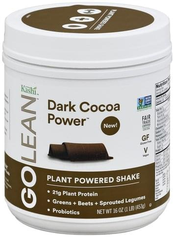 Kashi Plant Powered, Dark Cocoa Power Shake - 16 oz