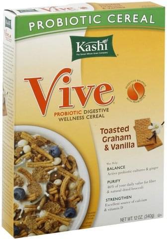 Kashi Toasted Graham & Vanilla Cereal - 12 oz