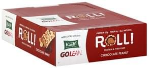 Kashi Protein & Fiber Bar Roll, Chocolate Peanut