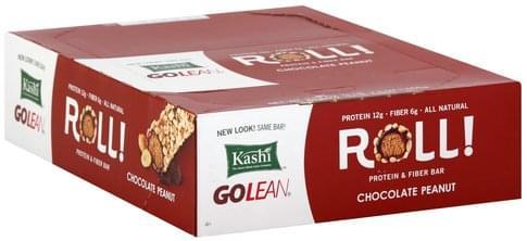 Kashi Roll, Chocolate Peanut Protein & Fiber Bar - 12 ea