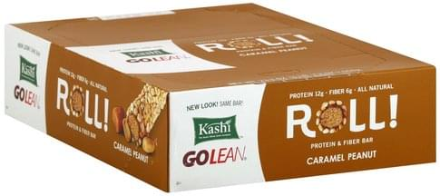 Kashi Roll, Caramel Peanut Protein & Fiber Bar - 12 ea