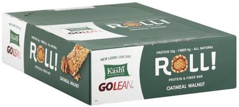 Kashi Roll, Oatmeal Walnut Protein & Fiber Bar - 12 ea