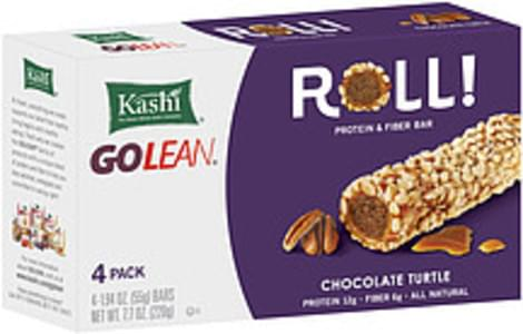 Kashi Protein & Fiber Bar Golean Roll! Chocolate Turtle 4 Ct